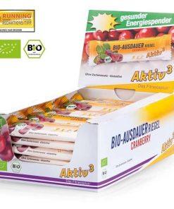 Baton energizant Ecologic 40g - aroma merisor