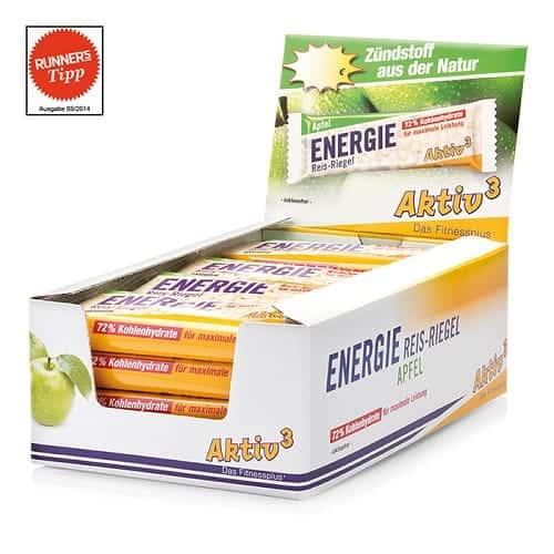 Cutie 20 batoane energizante de orez - aroma mere