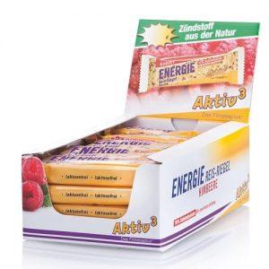 Cutie 20 batoane energizante de orez - aroma zmeura