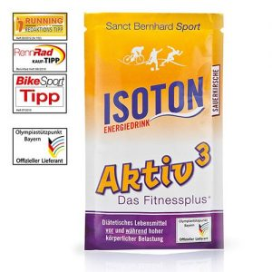 Isoton Energiedrink plic 36g aroma cirese amare